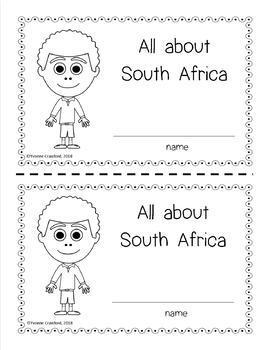 South Africa Country Booklet - Country Study - Interactive and Differentiated