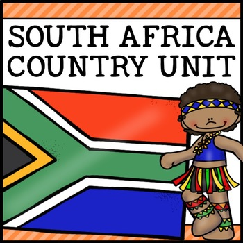 South Africa Country Social Studies Complete Unit