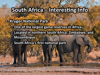 South Africa PowerPoint