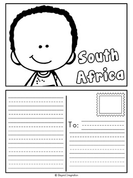 South Africa Country Study | 48 Pages for Differentiated Learning + Bonus Pages