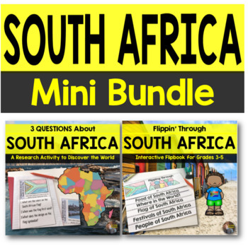 South Africa MINI Bundle for Grades 3-5