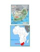 South Africa Map Scavenger Hunt