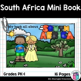 South Africa Mini Book for Early Readers - A Country Study