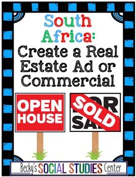 South Africa Project: Real Estate Ad or Commercial