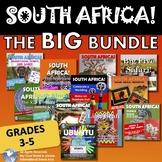 South Africa! The Big Bundle! Grades 3 - 5