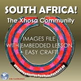 South Africa! The Xhosa Community - Lesson & Beaded Ingqosha Necklace Craft