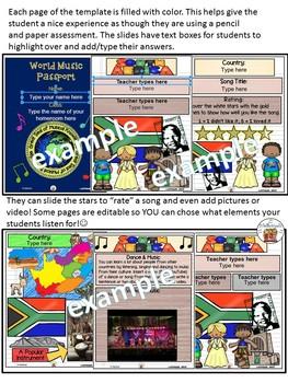 South Africa World Music Digital Passport