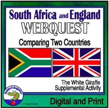 South Africa vs. England Webquest