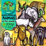 South African Animals Clip Art