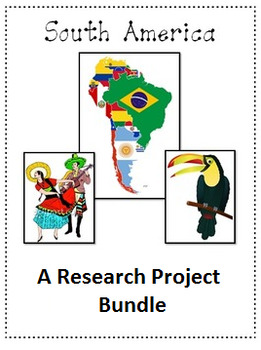 South America A Research Project Bundle