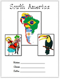 South America A Research project