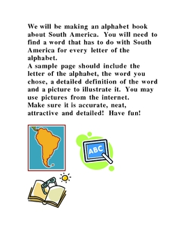 South America ABC Book