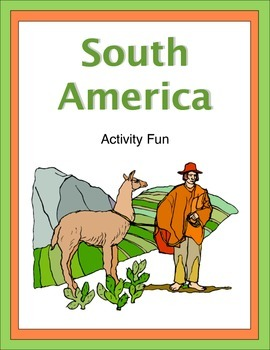 South America Activity Fun