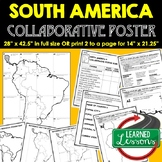 South America Collaborative Poster, Mapping South America