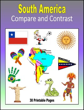 South America - Compare and Contrast