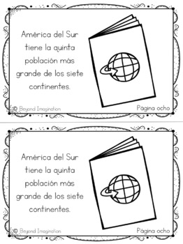 Continent Facts Booklet South Unit America Spanish Edition