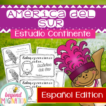 South America Continent Spanish Edition