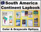 South America Continent Lapbook