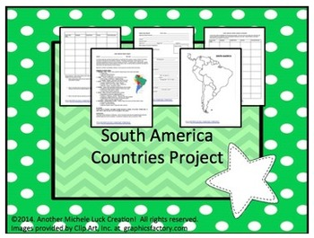 South America Countries Project and Student Presentations