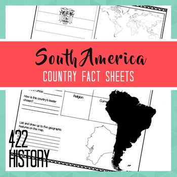 South America Country Fact Sheets