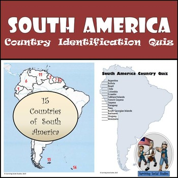 South America - Country Identification Quiz