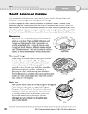 South America: Culture: Cuisine