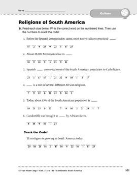 South America: Culture: Religions