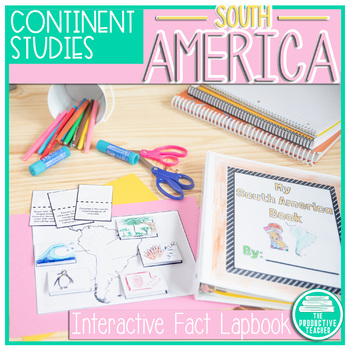 South America Facts Lapbook
