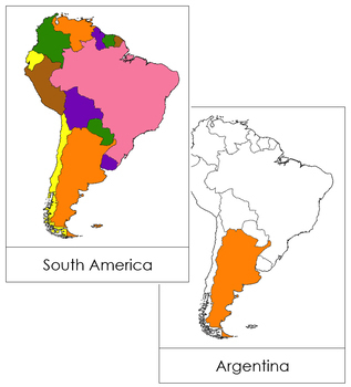 South America Flashcards