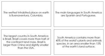 South America Fun Facts