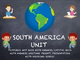 South America Geography Complete Unit Bundle