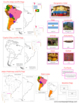 South America Geography Deluxe Bundle - Color Borders
