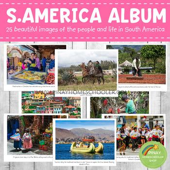 South America Montessori Geography Folder