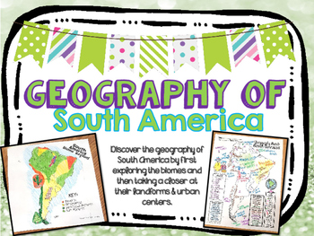 South America Biome and Geography Hunt