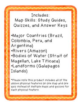 South America Geography Mini Bundle