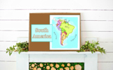 South America Geography Powerpoint Presentation//Middle Sc
