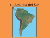 South America -Geography and Fun Facts - Powerpoint, Works