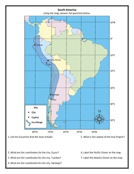 South America - Inca Geography