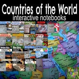 Countries of the World Interactive Notebook Bundle