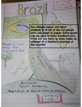 South America Interactive Notebook