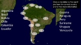 Interactive PowerPoint---South America