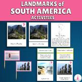 South America Landmarks Activities