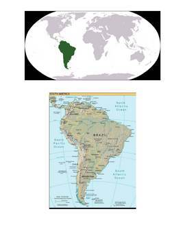 South America Lapbook and Mini Unit
