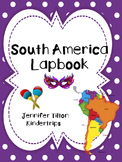 South America Interactive Notebook/Lapbook with Reading Passages