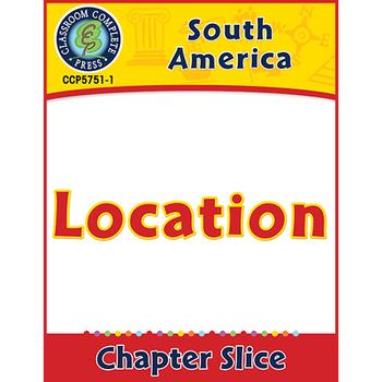 South America: Location Gr. 5-8
