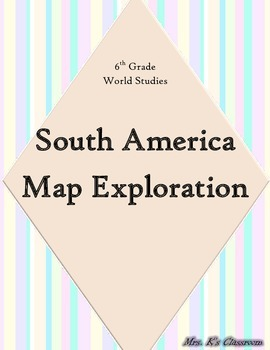 South America Map Exploration
