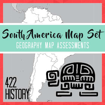 South America Map Set