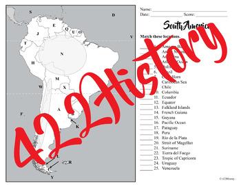 South America Map Set