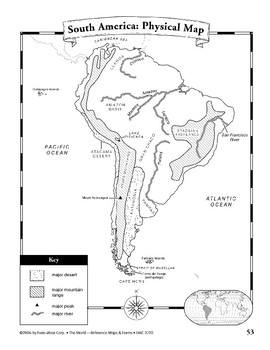 South America: Maps & Forms