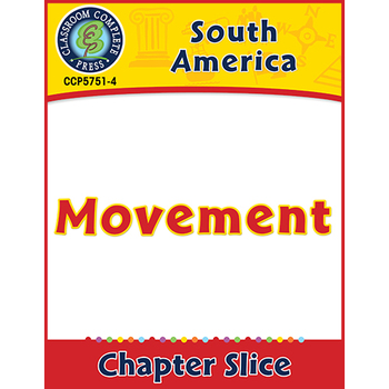 South America: Movement Gr. 5-8